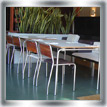 Cafe furniture combination